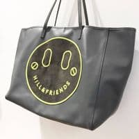 Hill & Friends Grey Leather Tote #4/2337/A